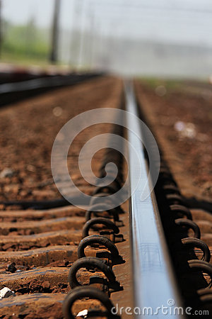 Railroad and Train