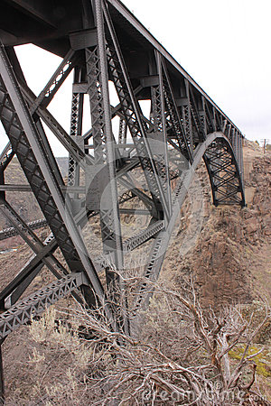 Railroad Trestle over Crooked River Gorge