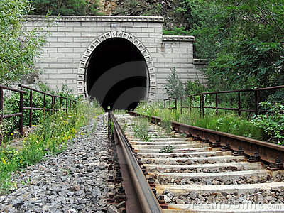 Railroad tunnel