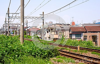 Rails and catenary