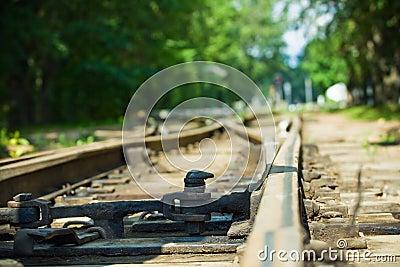 Rails move off