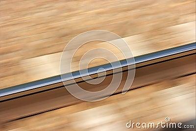 Railway blur