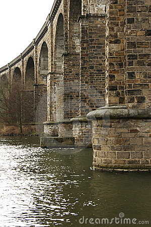 Free Railway Bridge Royalty Free Stock Image - 662486