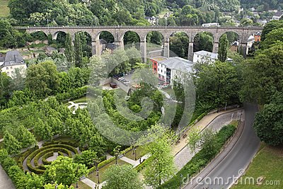 Railway bridge in Luxembourg