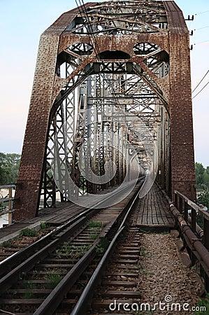 Railway Bridge on the River