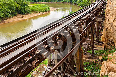 Railway Bridge tham krasae.