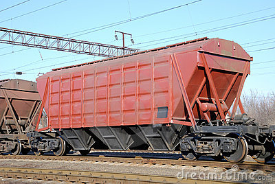Railway cars for various cargoes