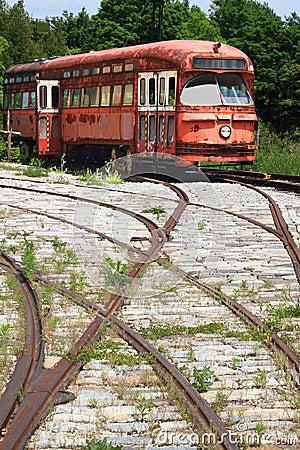 Railway Interurban public transportation.
