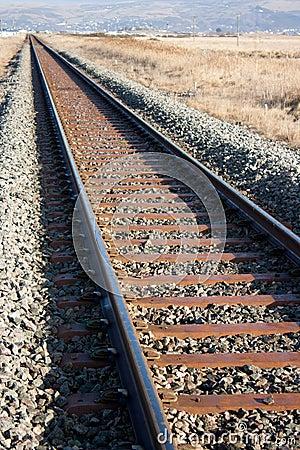 Free Railway Line Royalty Free Stock Image - 16841726