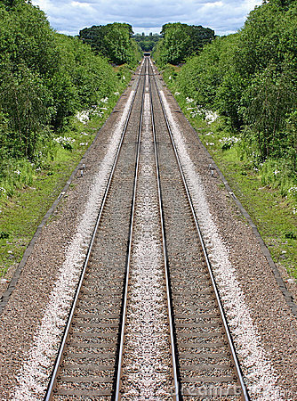 Railway Lines in the distance