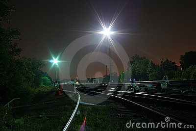 Railway night