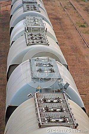 Railway silos