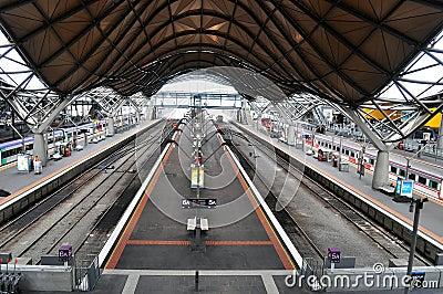Railway Station Editorial Photo