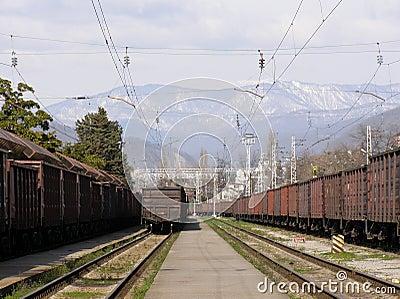 Railway Station of Sochi