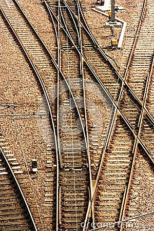 Free Railway Switch Points Stock Photos - 5533933