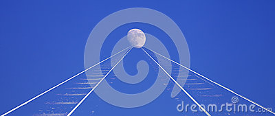 Railway to the moon