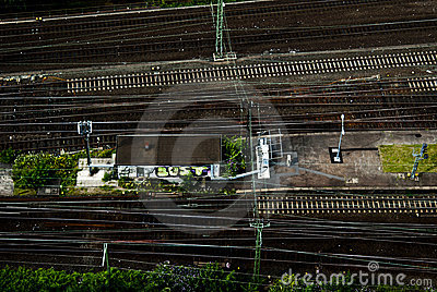 Railway track Editorial Photography
