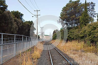 Railway Track Royalty Free Stock Photo - Image: 25488155