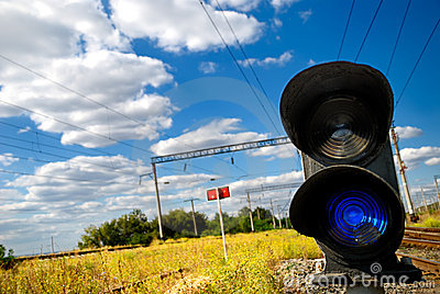 Railway traffic light