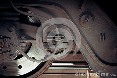 Railway Train Wheel And Brakes Free Public Domain Cc0 Image