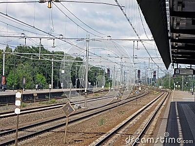 railway transportation sign, nobody, daylight,