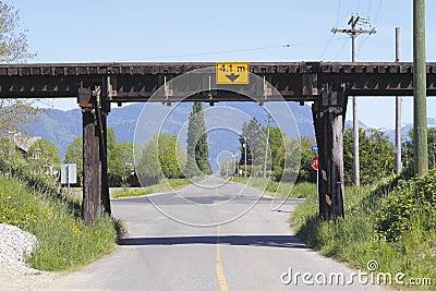 Railway Trestle over Road
