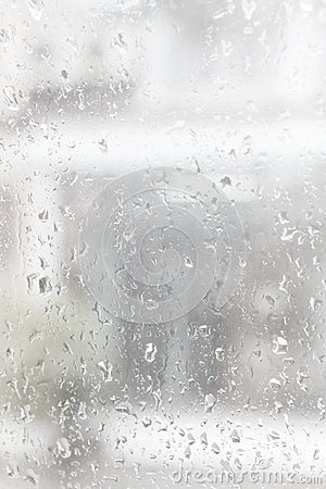 Rain drop water on mirror use as  background