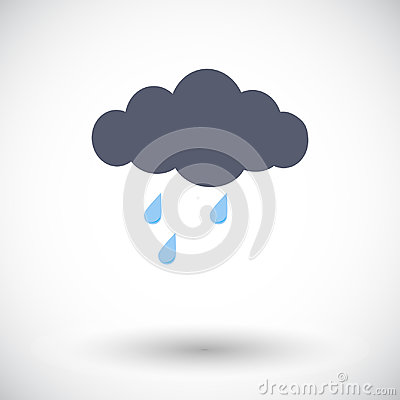 Free Rain Icon Stock Photography - 98346332