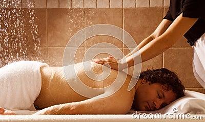 Rain massage