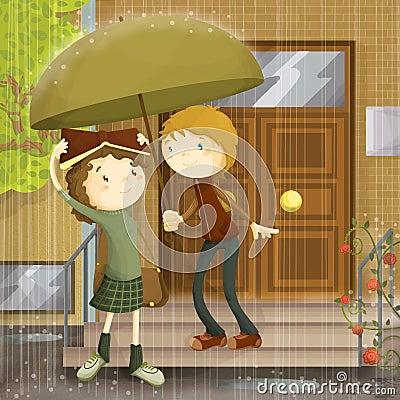Free Rain Of Love Stock Photos - 126695423