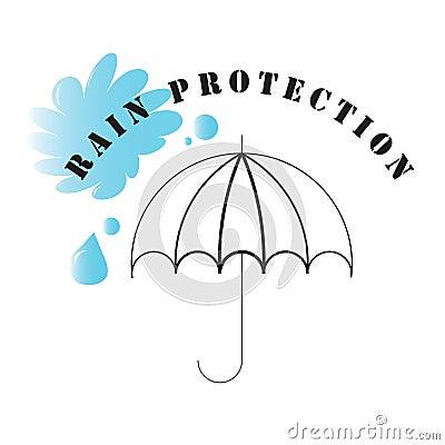 Rain Protection Symbol