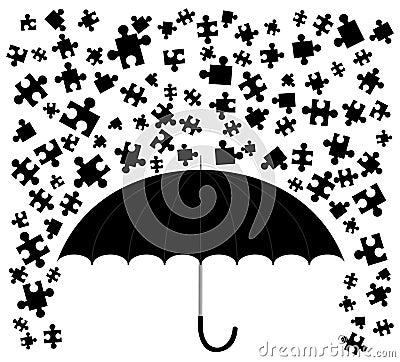 Rain puzzle