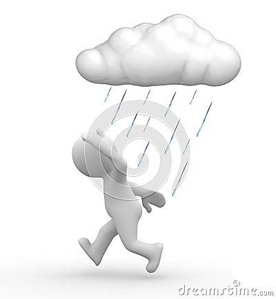Free Rain Troubles Stock Photos - 3579113