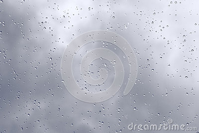 Rain weather background