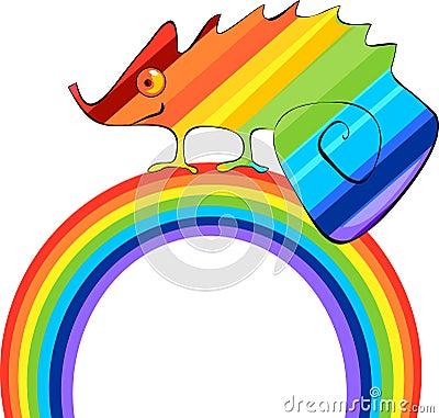 Rainbow Сhameleon