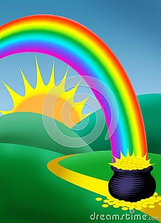 Rainbow Royalty Free Stock Photography - Image: 424317