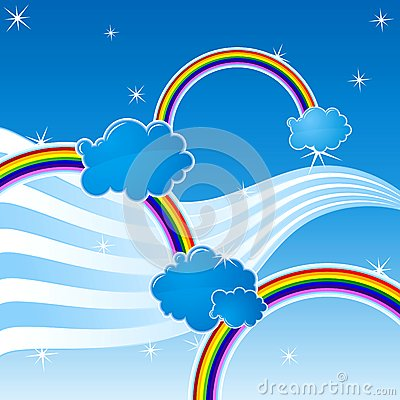 Rainbow Royalty Free Stock Image - Image: 8964366
