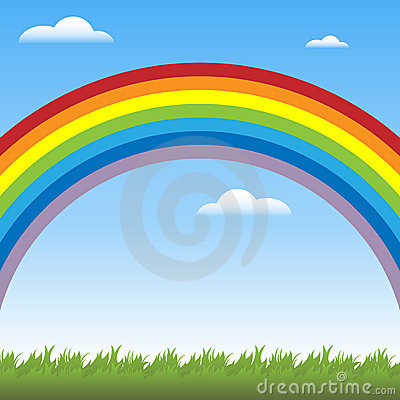 Free Rainbow Background Stock Images - 16000014