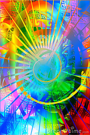 Free Rainbow Background2 Stock Photo - 490670