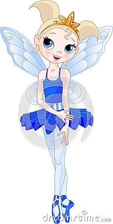 (Rainbow  ballerinas series). indigo  Ballerina