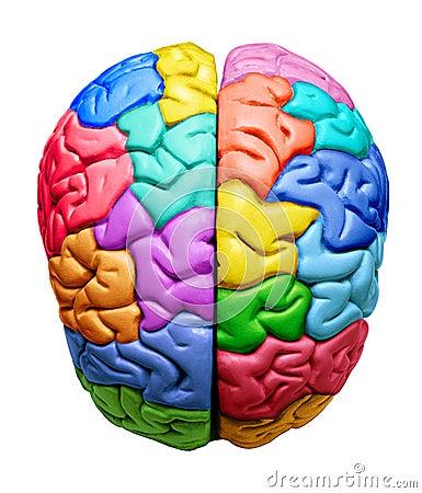 Free Rainbow Brain Creative Ideas Royalty Free Stock Photos - 3258328