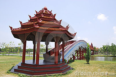 Rainbow Bridge in the Belief of Cambodian