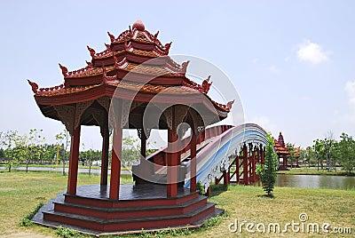 Rainbow Bridge in the Belief of Cambodian