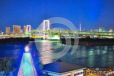 Rainbow bridge of Odaiba, Tokyo