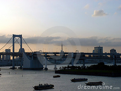Rainbow Bridge - Tokyo, Japan
