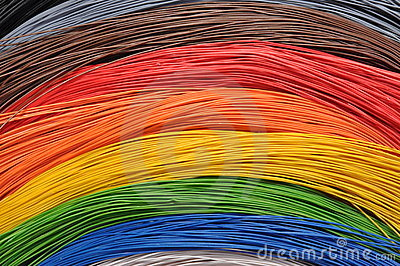Rainbow in broadband networks