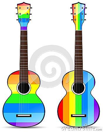 Rainbow classical acoustic