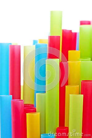 Free Rainbow Colorful Drinking Straws Royalty Free Stock Photography - 53422657