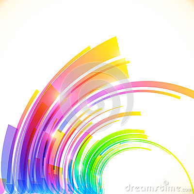 Free Rainbow Colors Abstract Vector Shining Background Royalty Free Stock Photo - 42867775