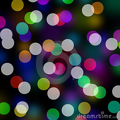Rainbow Colors Bokeh